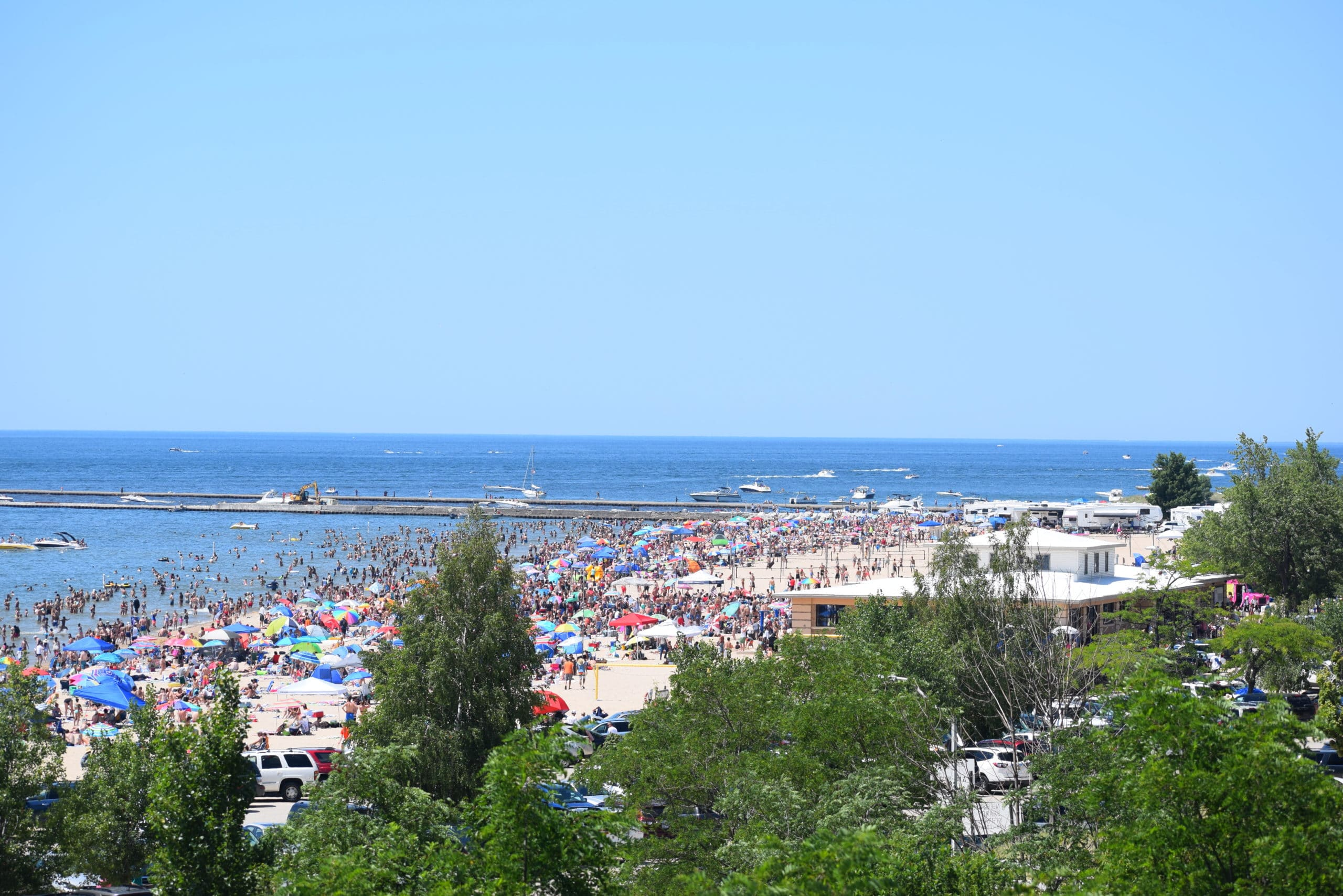 Grand Haven Beach on Saturday 4th of July- 10 BEST Things To Do In Grand Haven This Summer